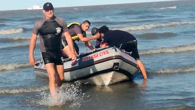Encontraron muertos a tres pescadores en el Río de la Plata