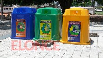 Paraná tiene 50 campanas-contenedores para recolectar materiales reciclables