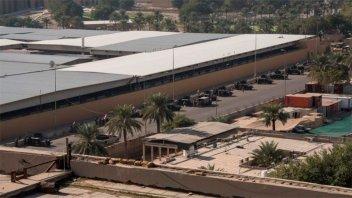 Dos cohetes impactaron en Zona Verde de Bagdad, a metros de la Embajada de EE.UU