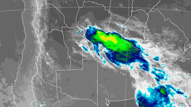 Imagen satelital de las 3.50