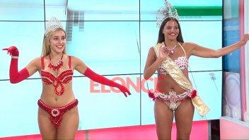 Video: Las Reinas del Carnaval de Hasenkamp bailaron y anticiparon detalles