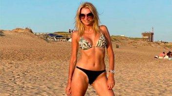 Yanina Latorre lució sus curvas en bikini