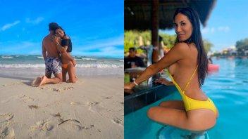 Topless, mimos y más: Las fotos de la