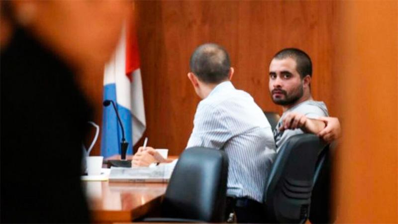 Barreto durante el juicio