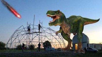 Los dinosaurios nuevamente están en el Observatorio de Oro Verde