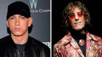 La nueva canción de Eminem basada en un tema de Spinetta y Pescado Rabioso