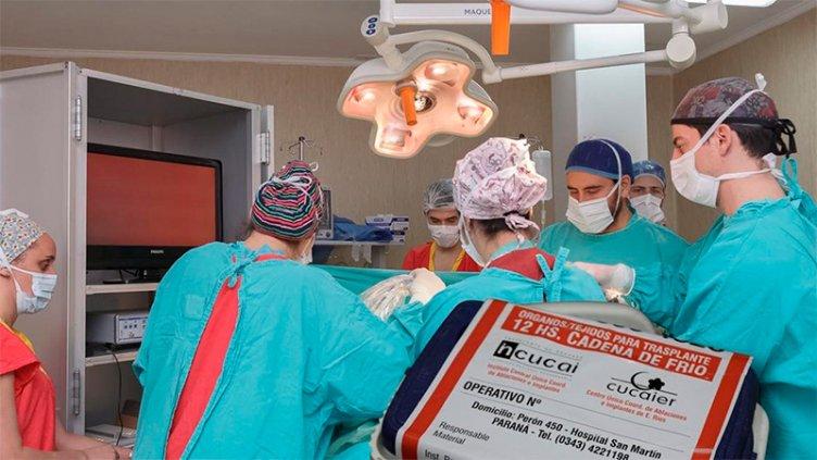 Nueva donación de órganos posibilitará cuatro trasplantes