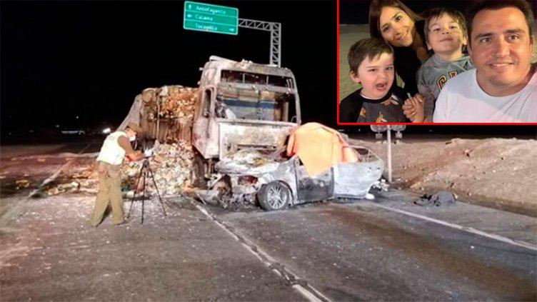 Una familia argentina murió en un accidente en Chile