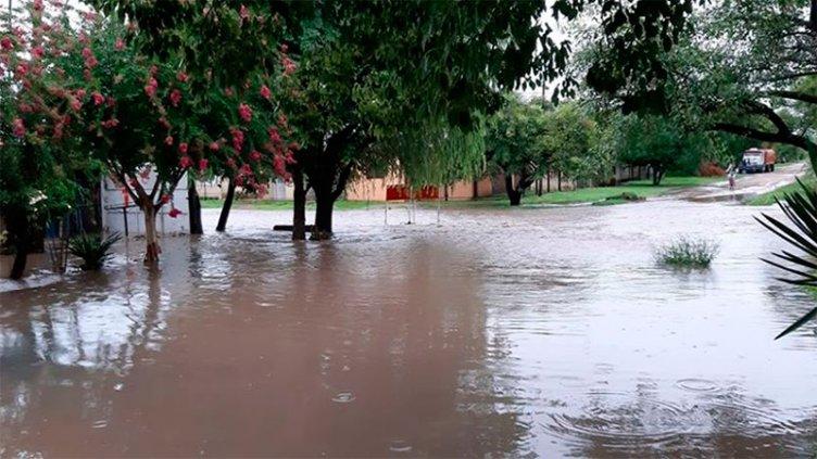 El gobierno monitorea y asiste a zonas afectadas por las lluvias