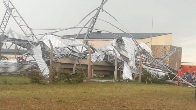 Fuerte temporal provocó importantes daños en Villa Mercedes