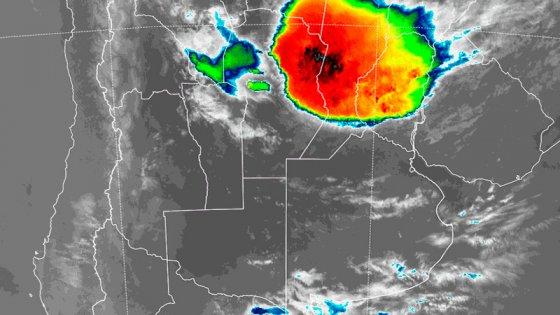 Llueve en Paraná: Alerta por tormentas fuertes en Entre Ríos y otras provincias