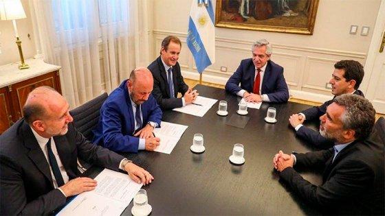 Alberto Fernández acordó con Bordet financiamiento para la Caja de Jubilaciones