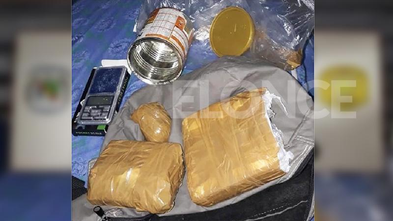Incautaron casi un kilo de cocaína en Paraná