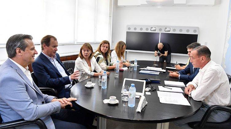 Bordet acordó con Nación continuidad de obras para el desarrollo entrerriano
