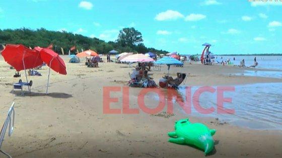 Playas de Concepción del Uruguay: Veraneantes las eligen por