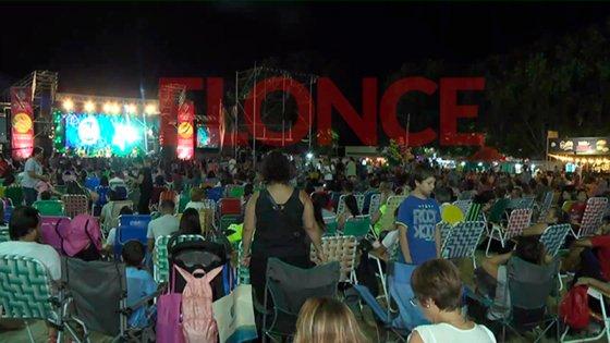 Concepción del Uruguay vivió la segunda noche de la Fiesta Nacional de la Playa