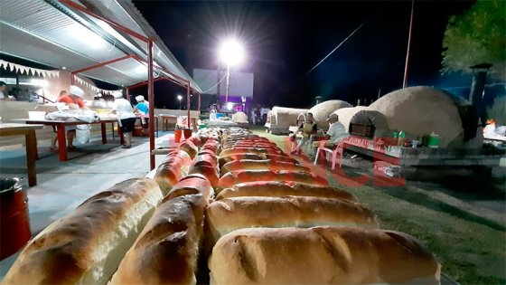 Exitosa primera noche de la Fiesta Provincial del Pan Casero de Sauce de Luna
