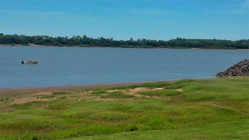Continúa la búsqueda del hombre que desapareció en el río Uruguay