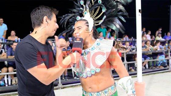 Comparsas despliegan su alegría en el carnaval de Santa Elena