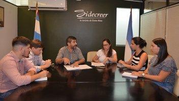 Impulsarán la adhesión de emprendedores de Paraná a Sidecreer