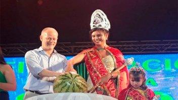 Eligieron a la nueva reina de la Fiesta Nacional de la Sandía