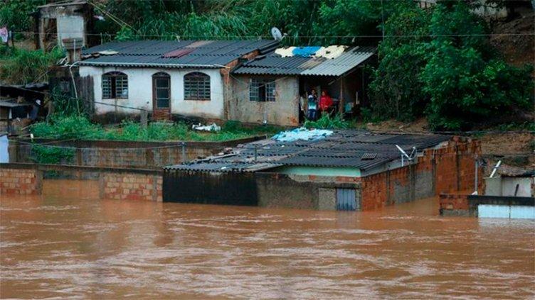 Fallecieron más de 53 personas en Brasil por fuertes tormentas