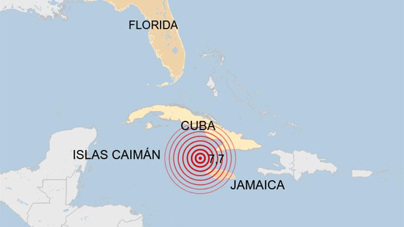 Sismo de magnitud 7,7 obligó a evacuar edificios en Cuba y Miami
