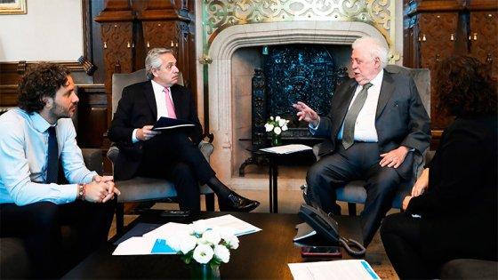 Fernández se interiorizó sobre las medidas nacionales frente al Coronavirus