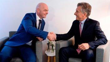 Macri fue designado presidente de la Fundación FIFA: