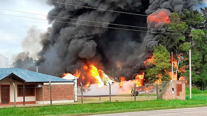Explosión en Santa Fe: Falleció un operario y otros tres fueron hospitalizados