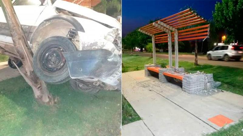 Seguro de automovilista pagará los daños causados tras choque en plazoleta.