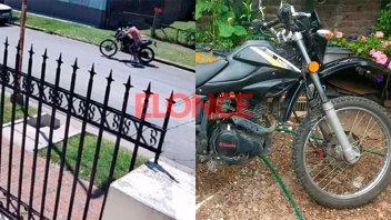Video: Así se robaron una moto en Paraná y ocurrió a plena luz del día