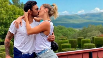 Mica Viciconte y Fabián Cubero estarían esperando su primer hijo