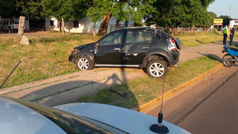El extraño suceso ocurrió en la ciudad de Chajarí.