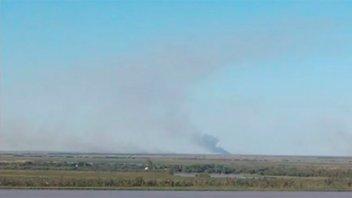 Incendios en las islas entrerrianas generaron quejas por el humo en Rosario