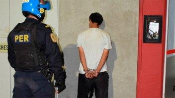 A menos de 24 horas de recuperar la libertad, volvió a ser detenido por robo