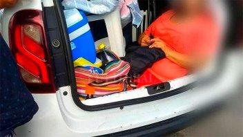 Argentino multado en Florianópolis: llevaba a la suegra en el baúl del auto