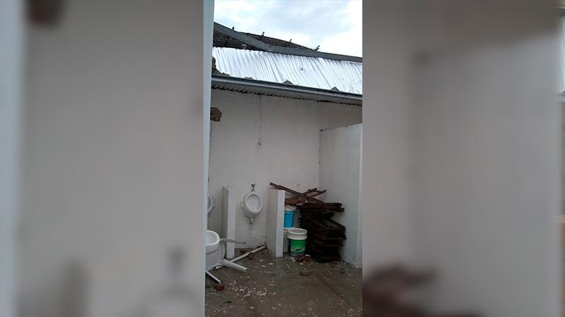 Reportaron daños en la Escuela Nº 24 de Costa Grande.-