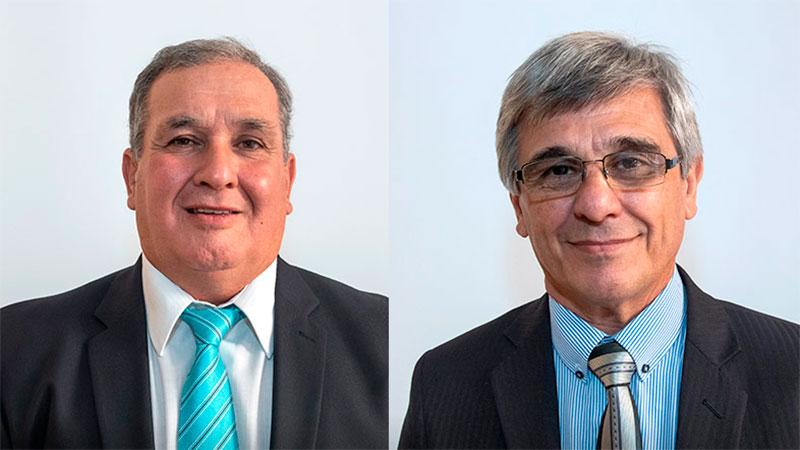 Daniel Horacio Olano y Rubén Alberto Dal Molín. Fuente: APF