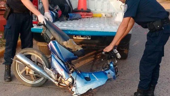 Falleció el joven que había protagonizado un grave accidente de moto