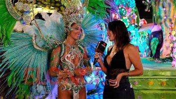 Concordia vibró al ritmo de la cuarta noche de su colorido carnaval