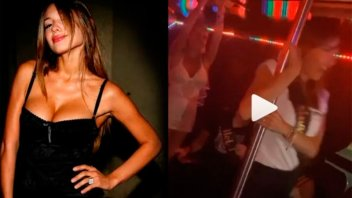 Alegría, ritmo y seducción: El increíble baile del caño de Pampita