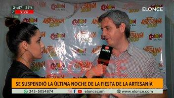 Se suspendió la última noche de la Fiesta Nacional de la Artesanía de Colón