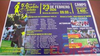 Se realizará la quinta edición de Fiesta del Pueblo Isleño