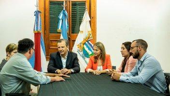 La Municipalidad cedió en comodato un espacio para la Fundación Puentes