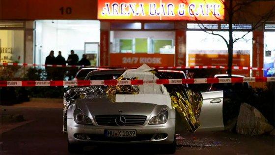 Tensión en Alemania: ocho muertos y cinco heridos graves en dos tiroteos