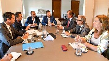 Bordet evaluó la continuidad de obras de infraestructura financiadas por Nación