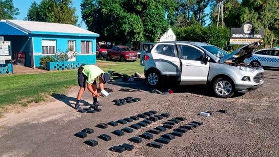 Secuestran 46 celulares en operativo sobre Ruta 12: Tienen un valor de $ 820 mil