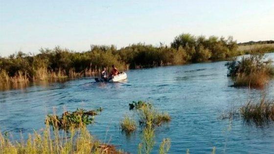 Hallaron el cuerpo del hombre que se arrojó al arroyo para salvar a su sobrino