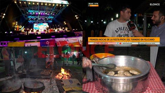 San José de Feliciano vivió con éxito la primera noche de la Fiesta del Ternero